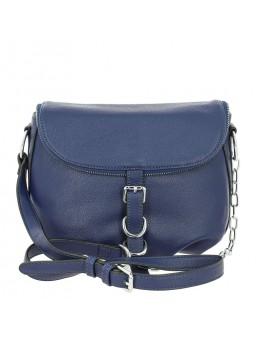 Женская кожаная сумка PS009 BLUE